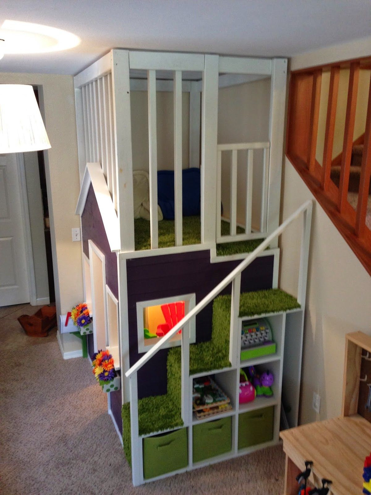 Best ideas about DIY Kids Playroom . Save or Pin Detailed instructions and material list This is happening Now.