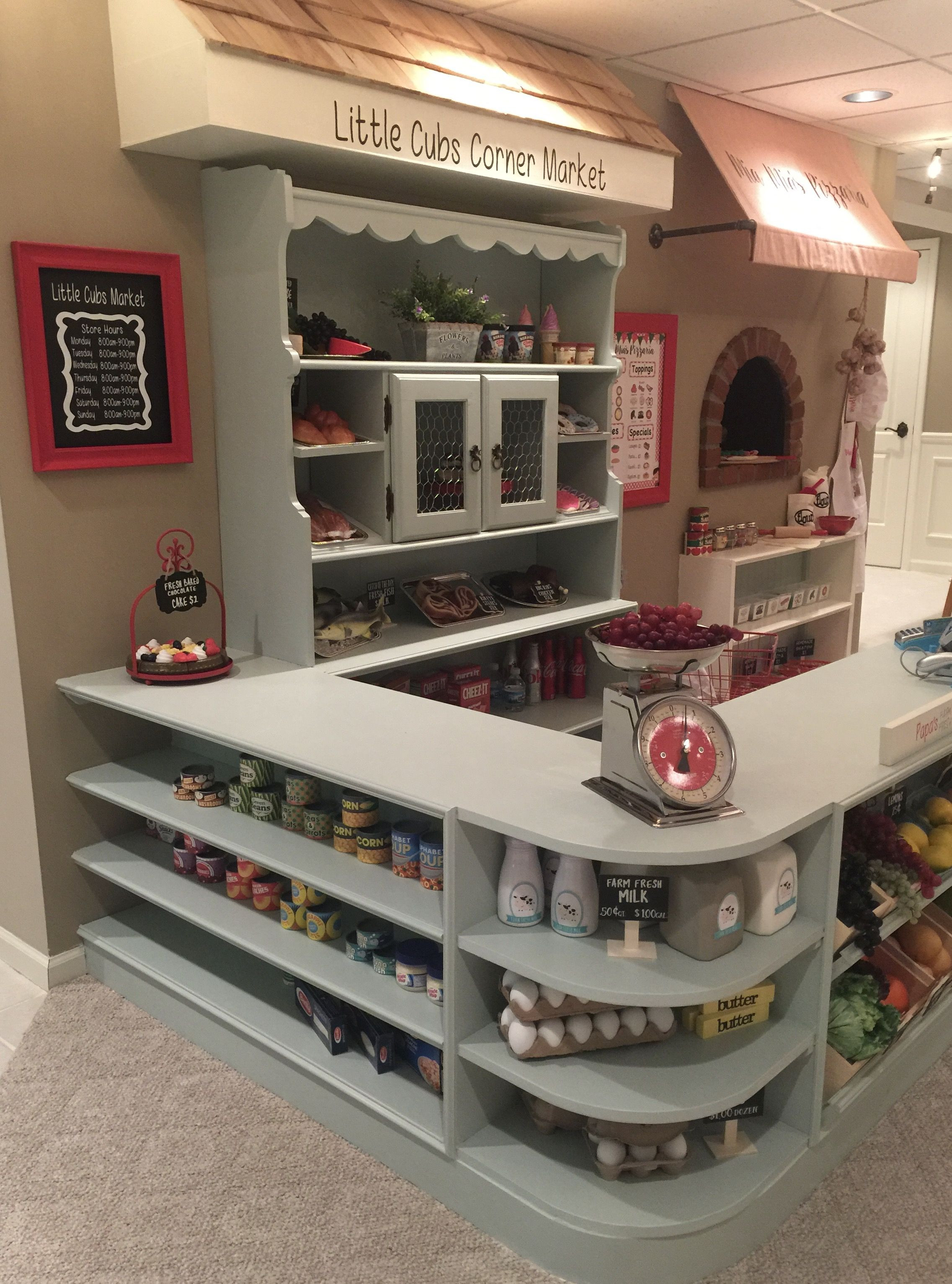 Best ideas about DIY Kids Playroom . Save or Pin DIY kids Play Market DIY Play Market Pinterest Now.
