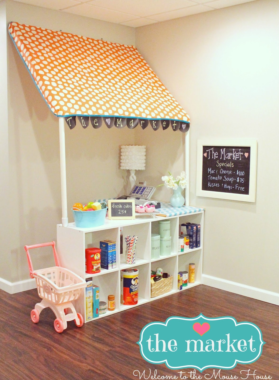Best ideas about DIY Kids Playroom . Save or Pin The Market Grocery Store for Kids with PVC Now.