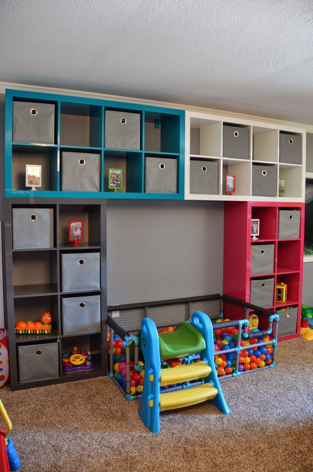 Best ideas about DIY Kids Playroom . Save or Pin 7 1 Toy Storage Ideas DIY Plans In A Small Space [Your Now.