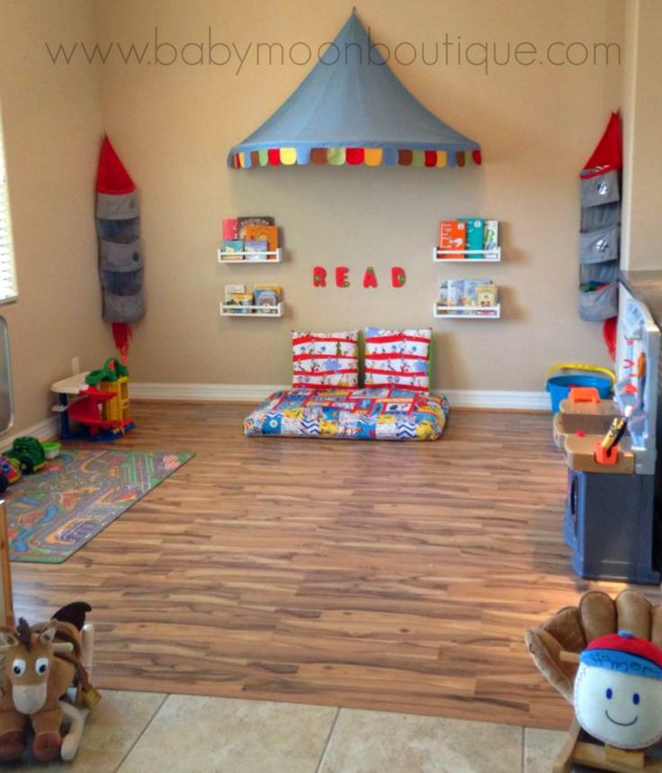 Best ideas about DIY Kids Playroom . Save or Pin Decorate That Playroom DIY playroom decor reading corner Now.