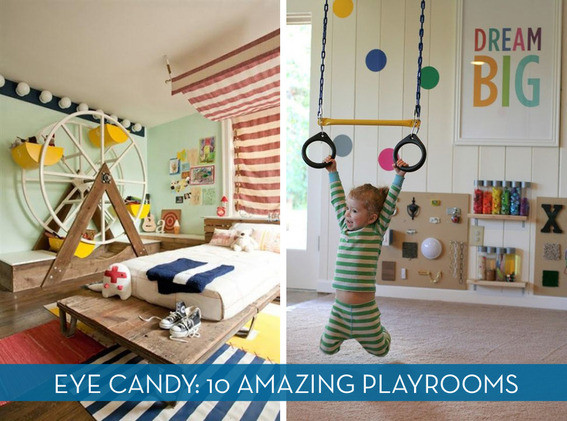 Best ideas about DIY Kids Playrooms . Save or Pin Eye Candy 10 Inspiring Kids Playrooms Now.