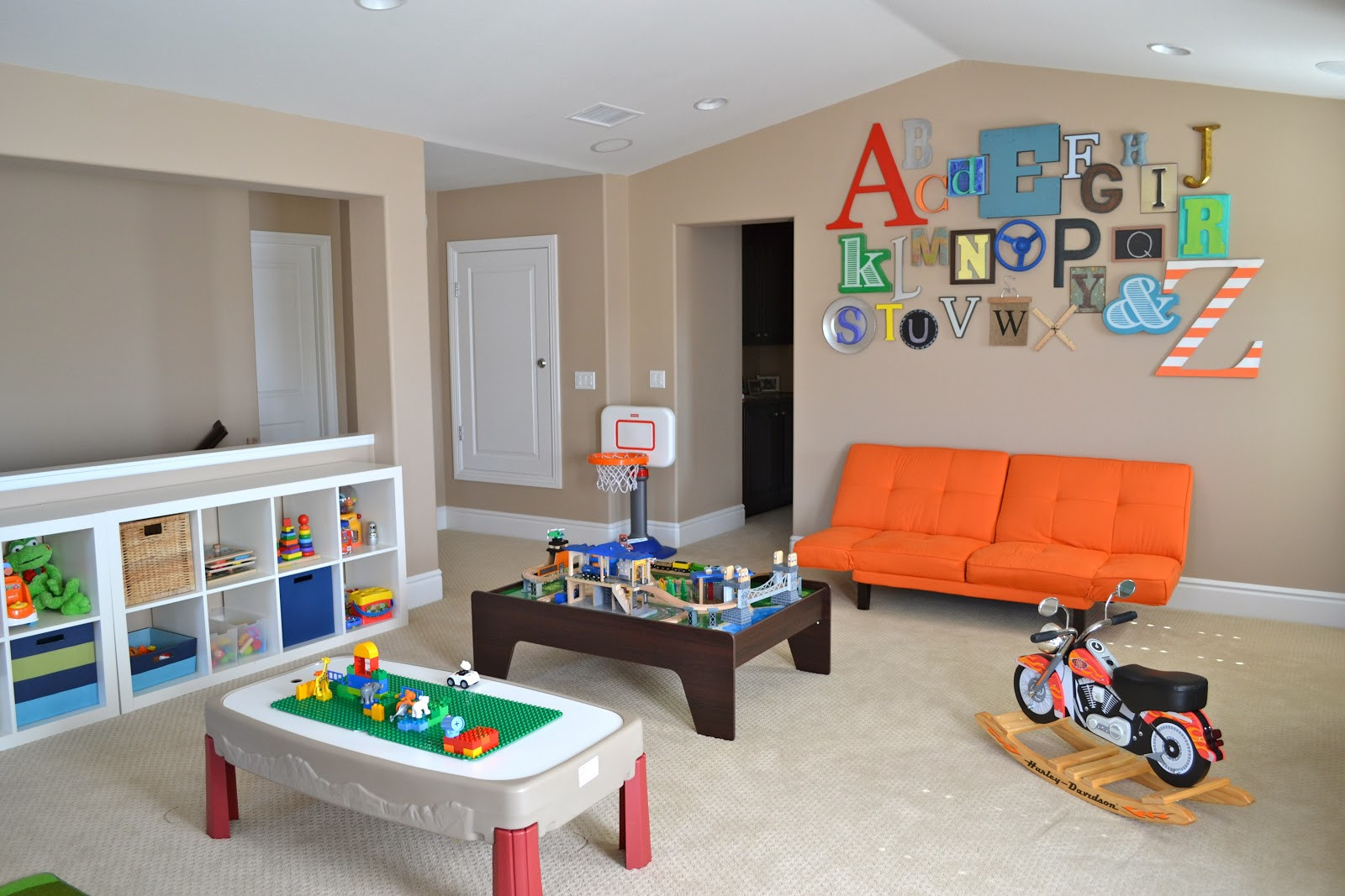 Best ideas about DIY Kids Playrooms . Save or Pin Playroom Tour With Lots of DIY Ideas • Color Made Happy Now.