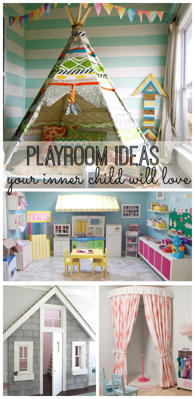 Best ideas about DIY Kids Playrooms . Save or Pin Playroom Ideas Your Inner Child Will Love My Life and Kids Now.