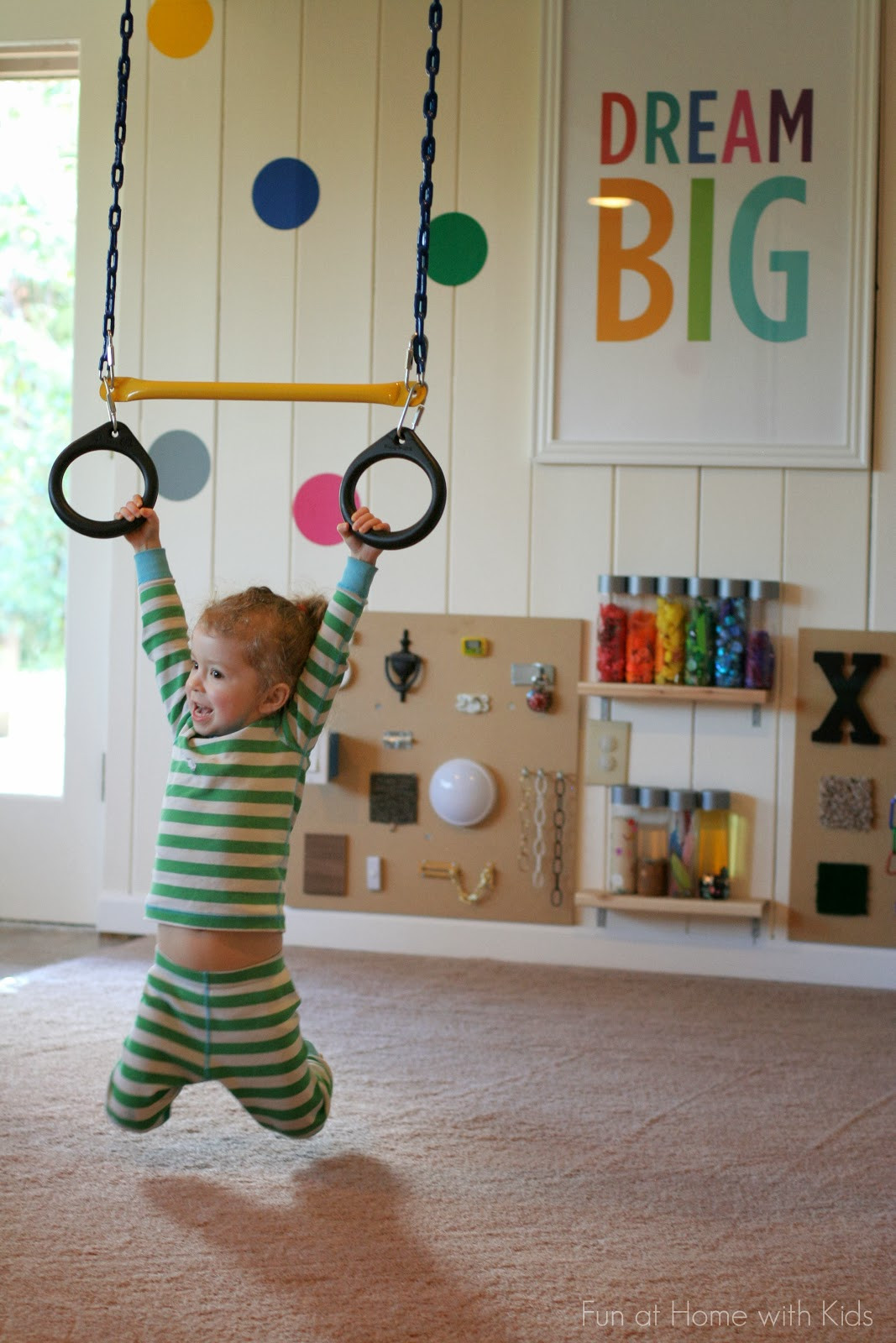 Best ideas about DIY Kids Playrooms . Save or Pin Playroom Design DIY Playroom with Rock Wall Now.