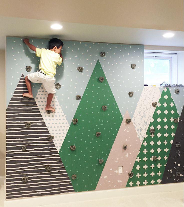 Best ideas about DIY Kids Rock Climbing Wall . Save or Pin 22 Awesome Rock Climbing Wall Ideas For Your Home Now.