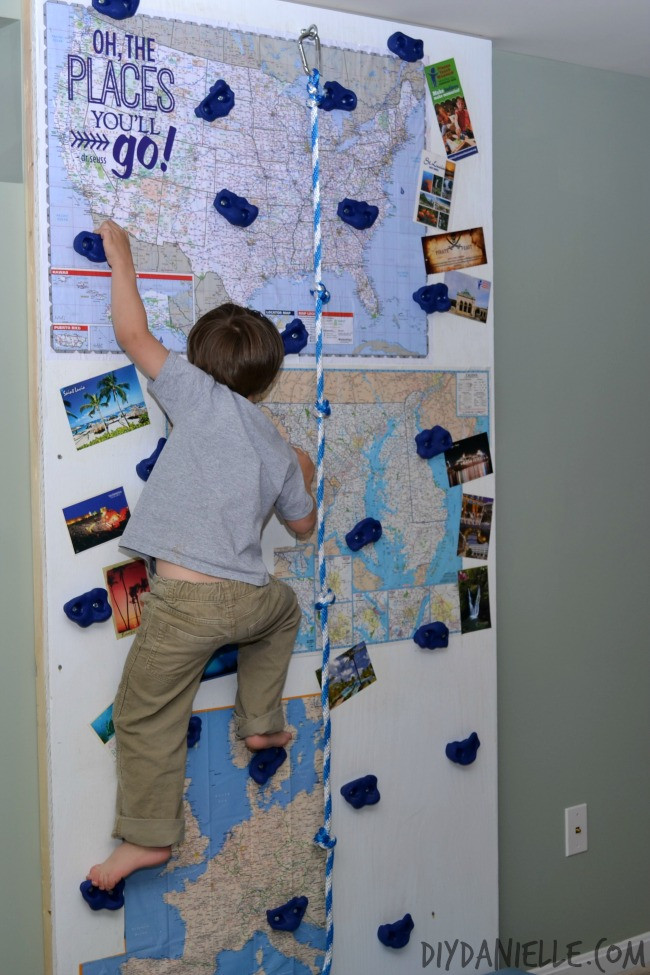 Best ideas about DIY Kids Rock Climbing Wall . Save or Pin How to Build an Indoor Rock Climbing Wall Now.