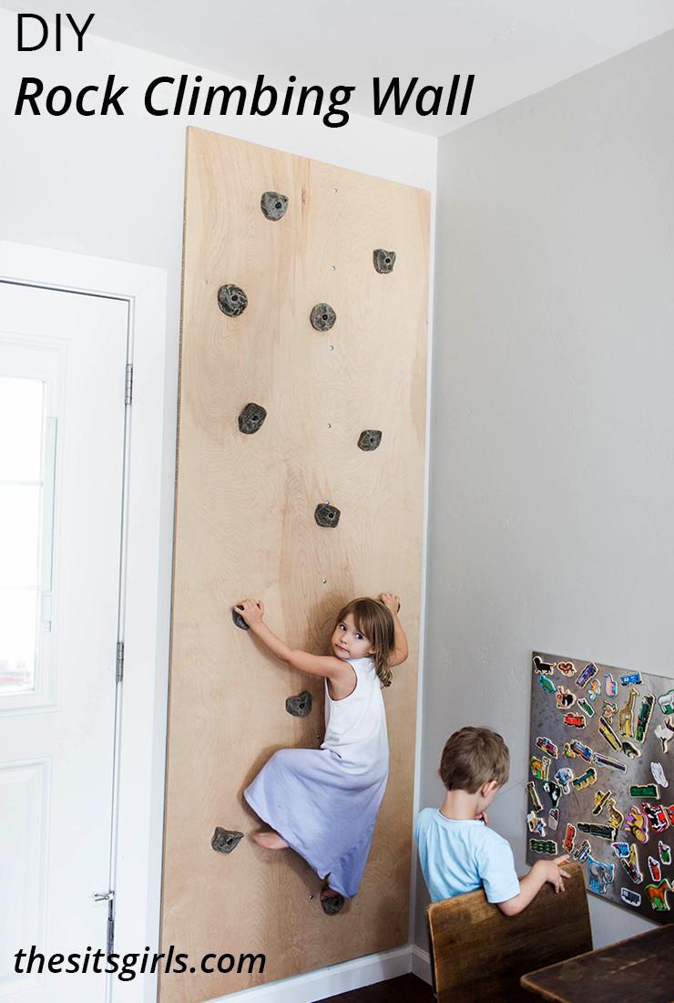 Best ideas about DIY Kids Rock Climbing Wall . Save or Pin DIY Rock Climbing Wall Playroom Idea Now.