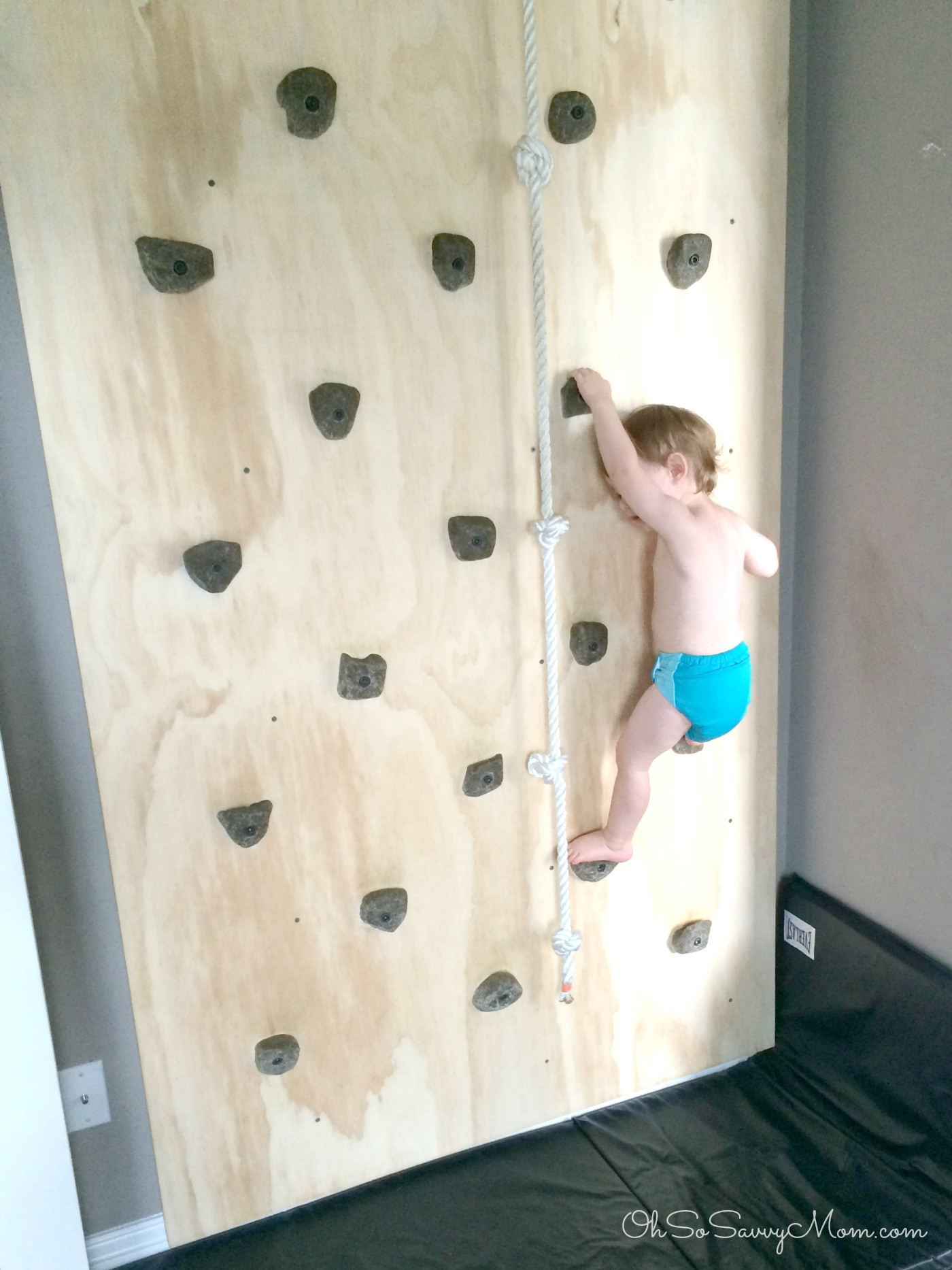 Best ideas about DIY Kids Rock Climbing Wall . Save or Pin How to build a DIY Kids Climbing Wall Easy to Follow Now.