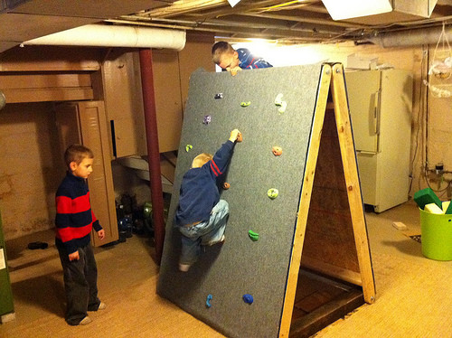 Best ideas about DIY Kids Rock Climbing Wall . Save or Pin 24 best diy ideasat home for rock climbing wall for toddler Now.