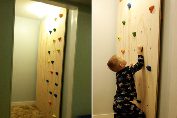 Best ideas about DIY Kids Rock Climbing Wall . Save or Pin DIY Kid s Climbing Wall At Home with Kim Vallee Now.