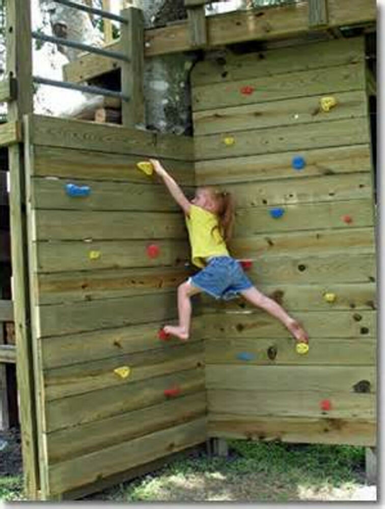 Best ideas about DIY Kids Rock Climbing Wall . Save or Pin x10 Screw on Green posite Sand Grip Rock Wall Climbing Now.