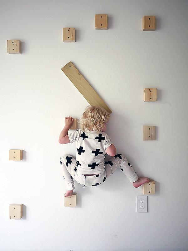 Best ideas about DIY Kids Rock Climbing Wall . Save or Pin Our DIY Rock Climbing Wall Now.