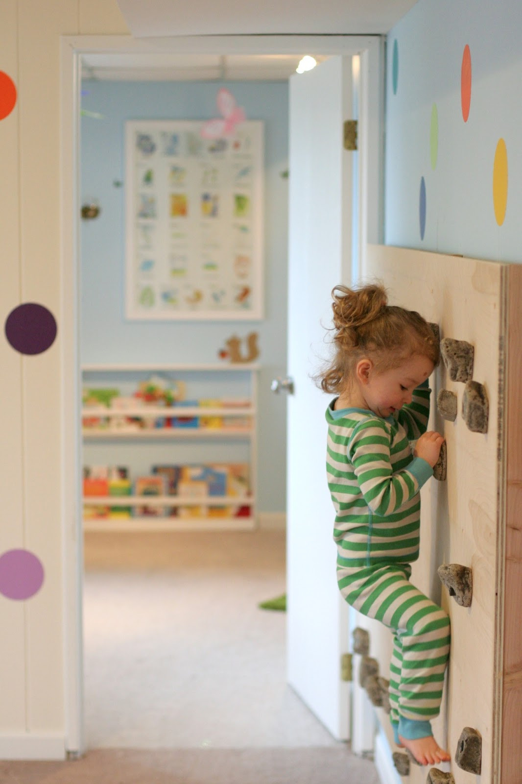 Best ideas about DIY Kids Rock Climbing Wall . Save or Pin Playroom Design DIY Playroom with Rock Wall Now.