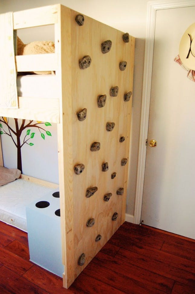 Best ideas about DIY Kids Rock Climbing Wall . Save or Pin 16 Loft Beds to Make Your Small Space Feel Bigger Now.