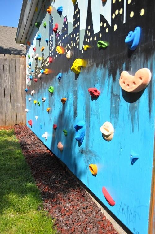 Best ideas about DIY Kids Rock Climbing Wall . Save or Pin DIY Backyard Climbing Wall Now.