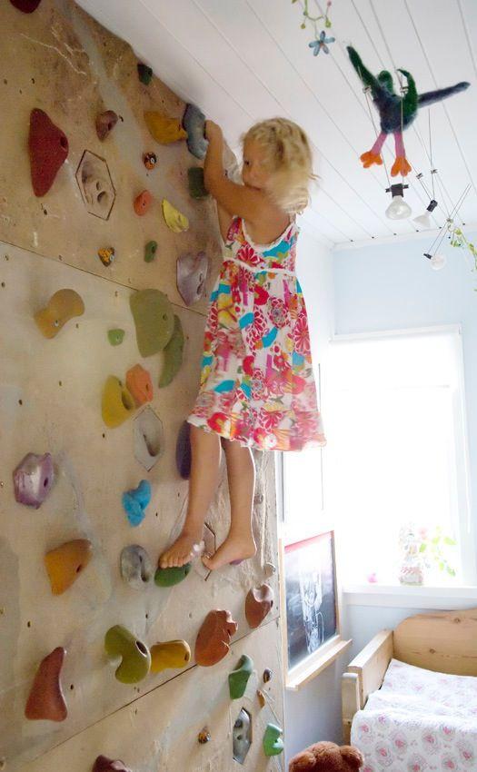Best ideas about DIY Kids Rock Climbing Wall . Save or Pin 17 best images about Climbing wall ideas for kids rooms 0 Now.