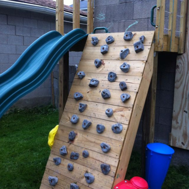 Best ideas about DIY Kids Rock Climbing Wall . Save or Pin DIY family climbing wall build this spring next to our Now.