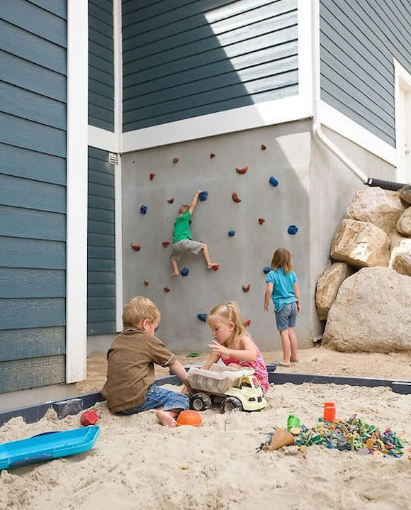 Best ideas about DIY Kids Rock Climbing Wall . Save or Pin Awesome Outdoor DIY Projects for Kids Now.
