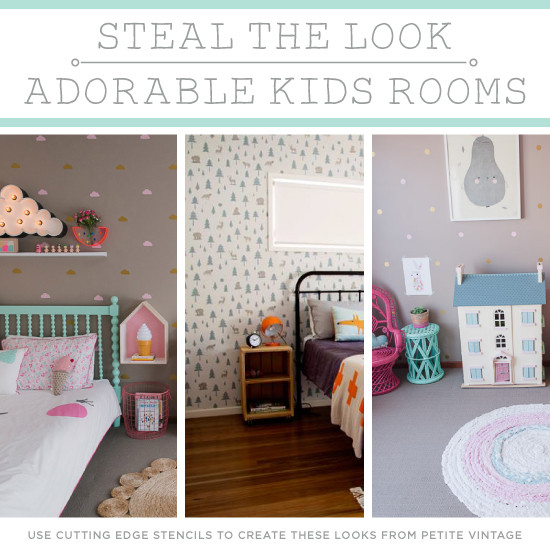 Best ideas about DIY Kids Room Ideas . Save or Pin Steal The Look Adorable Kids Rooms Now.