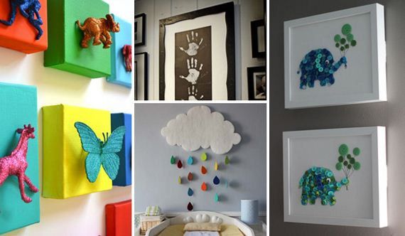 Best ideas about DIY Kids Room Ideas . Save or Pin Cute DIY Wall Art Projects For Kids Room Now.