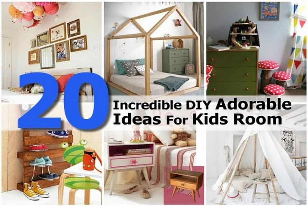 Best ideas about DIY Kids Room Ideas . Save or Pin 20 Incredible DIY Adorable Ideas For Kids Room Now.