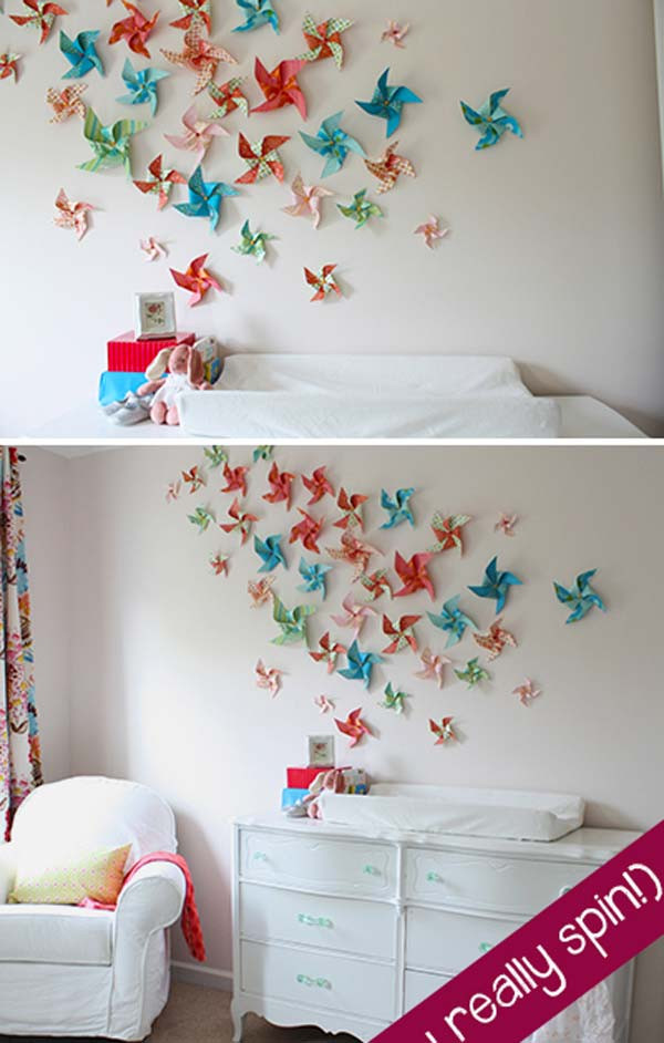 Best ideas about DIY Kids Rooms . Save or Pin Top 28 Most Adorable DIY Wall Art Projects For Kids Room Now.