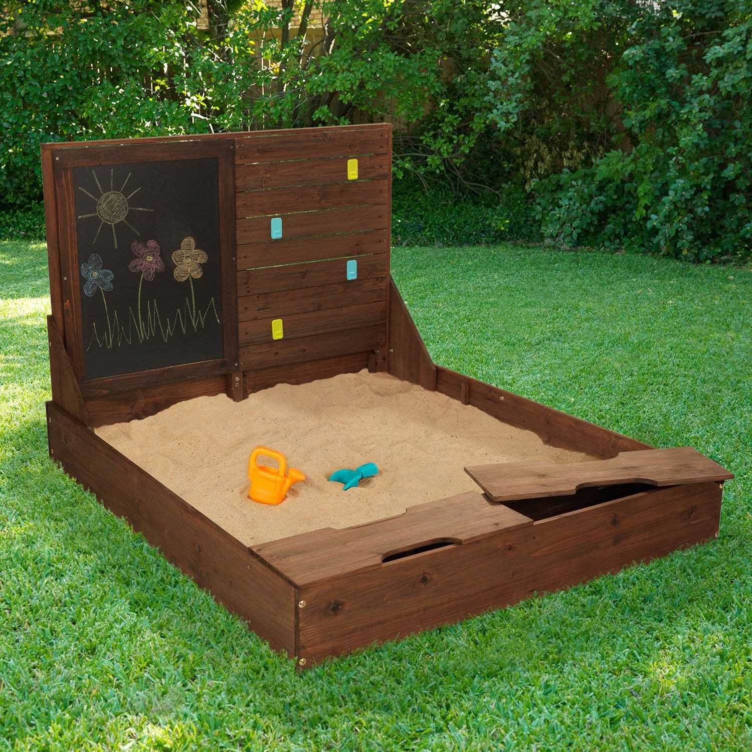 Best ideas about DIY Kids Sandbox . Save or Pin Activity Sandbox Bring the beach to your backyard with Now.
