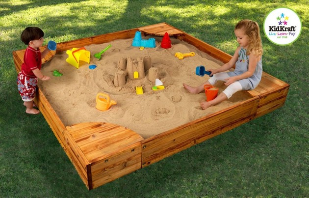 Best ideas about DIY Kids Sandbox . Save or Pin Bring the Beach in Your Backyard Amazing DIY Sandbox Now.