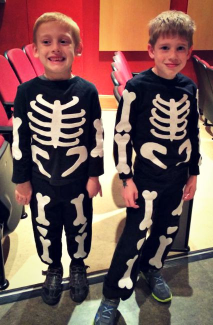 Best ideas about DIY Kids Skeleton Costume . Save or Pin DIY Skeleton Costume Inspiration The Little Things Journal Now.