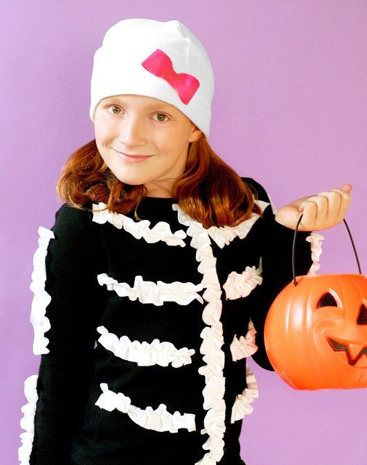 Best ideas about DIY Kids Skeleton Costume . Save or Pin 34 DIY Kid Halloween Costume Ideas C R A F T Now.