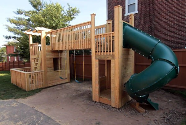 Best ideas about DIY Kids Slide . Save or Pin 16 DIY Playhouses Your Kids Will Love to Play In – The Now.
