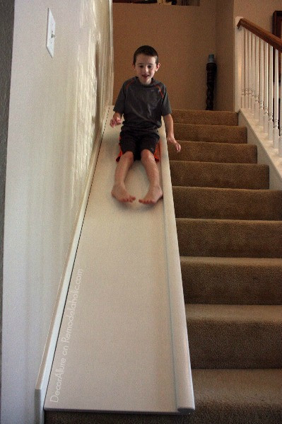 Best ideas about DIY Kids Slide . Save or Pin Remodelaholic Now.