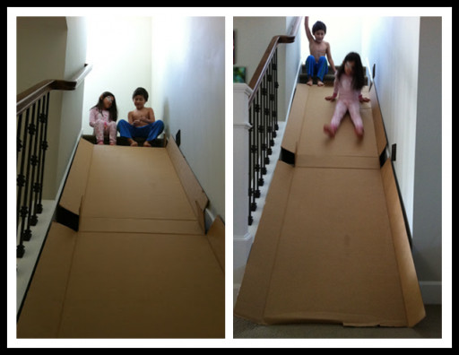 Best ideas about DIY Kids Slide . Save or Pin How To Make DIY Cardboard Pendant Light Now.