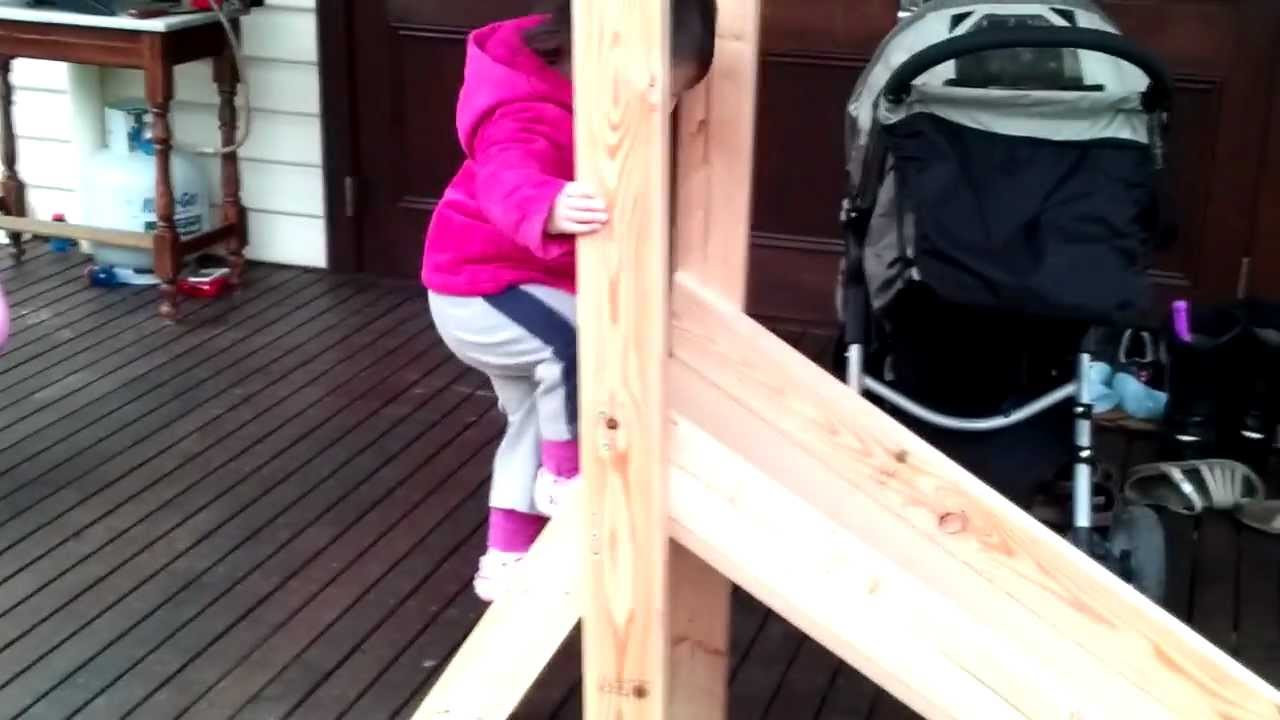 Best ideas about DIY Kids Slide . Save or Pin How to make a kids slide Now.