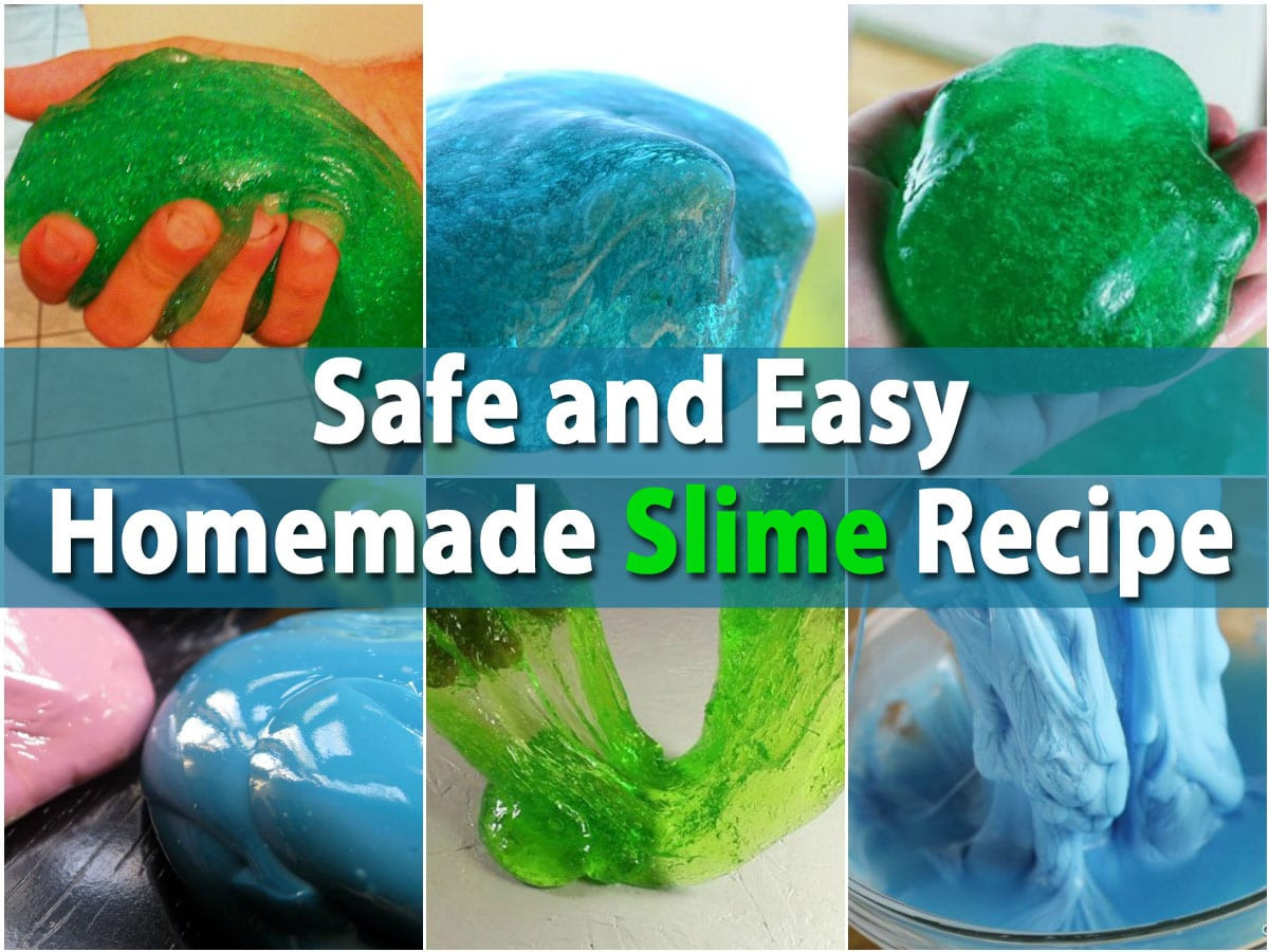 Best ideas about DIY Kids Slime . Save or Pin Kids Will Love This Safe and Easy Homemade Slime Recipe Now.