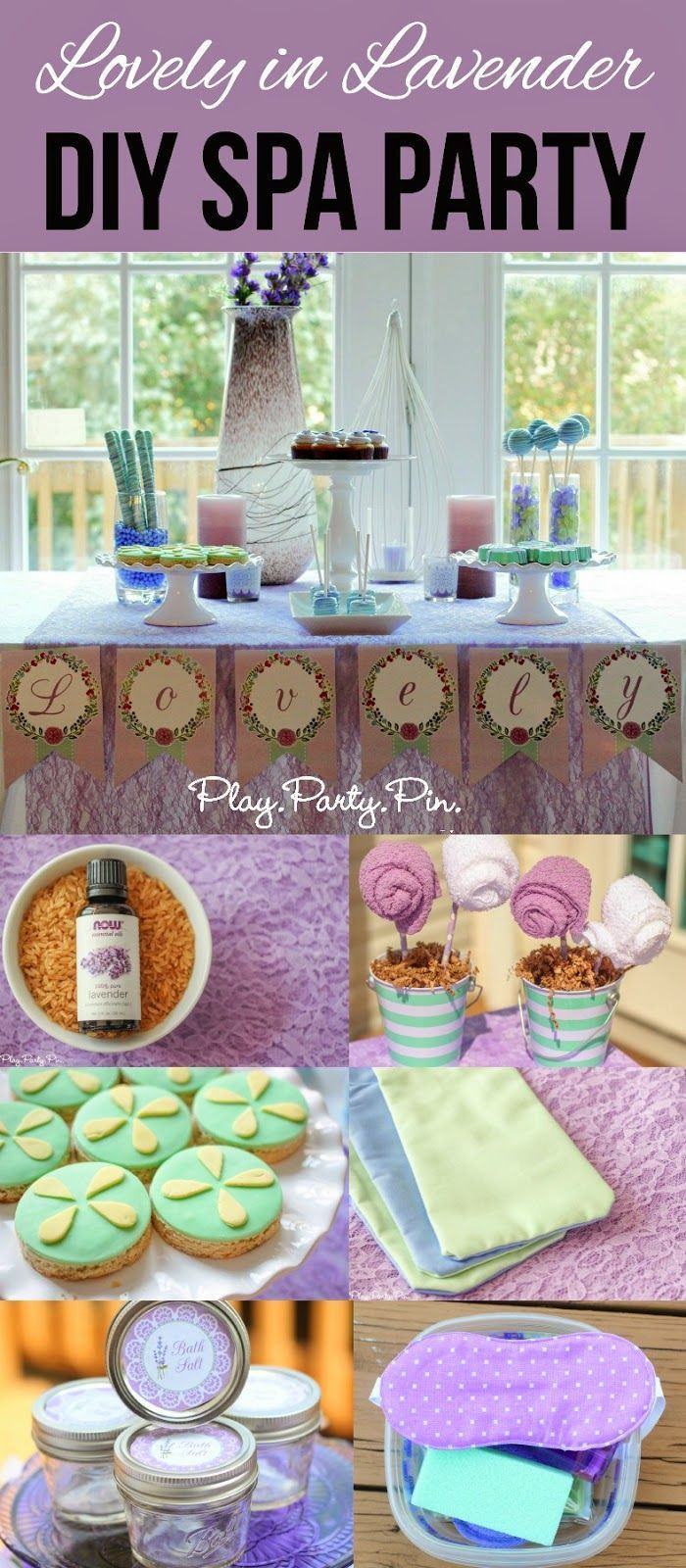 Best ideas about DIY Kids Spa Party . Save or Pin Lovely in Lavender DIY spa party ideas perfect for a Now.