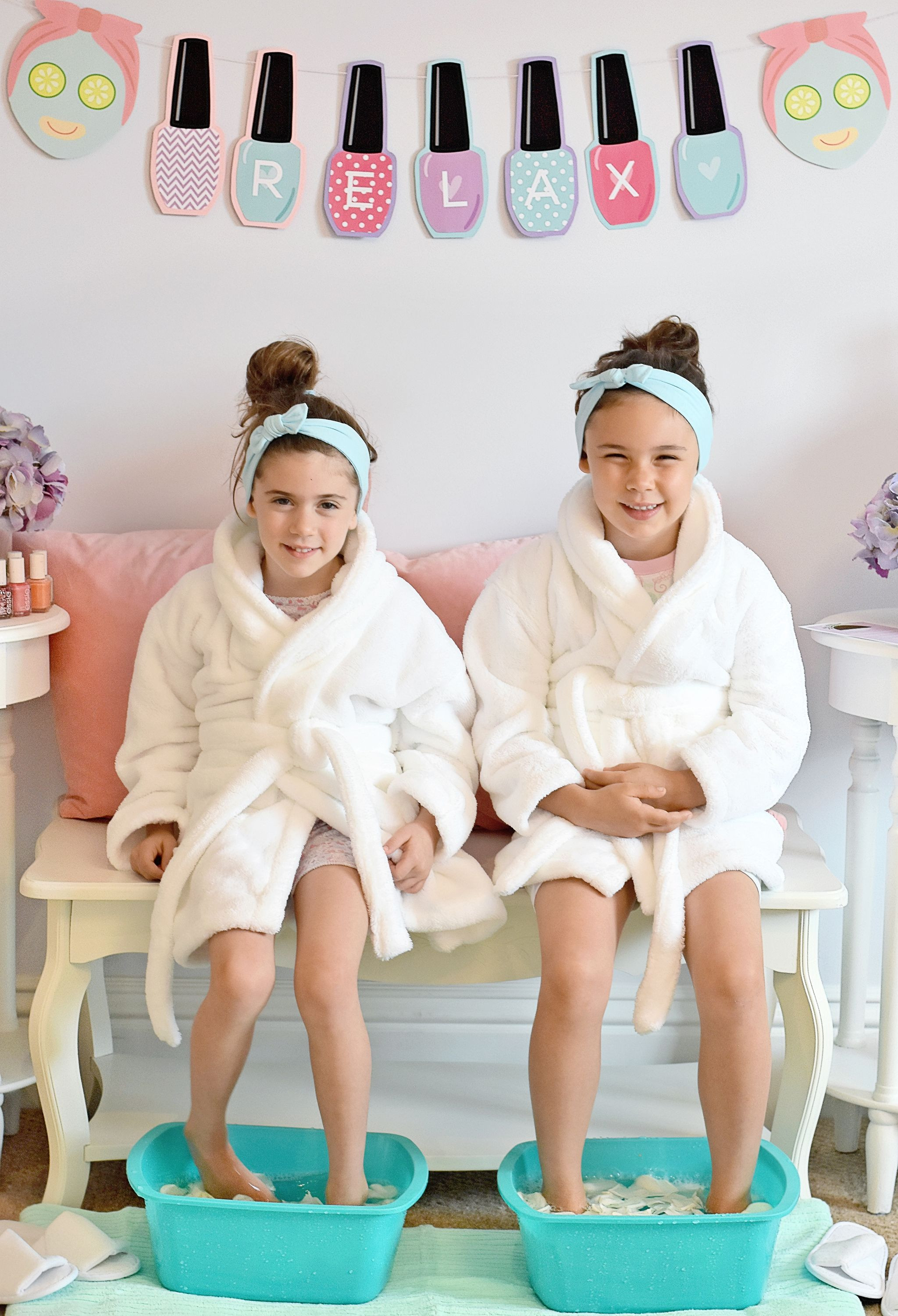 Best ideas about DIY Kids Spa Party . Save or Pin How to Host a Spa Day for Kids Finds for Mom Now.