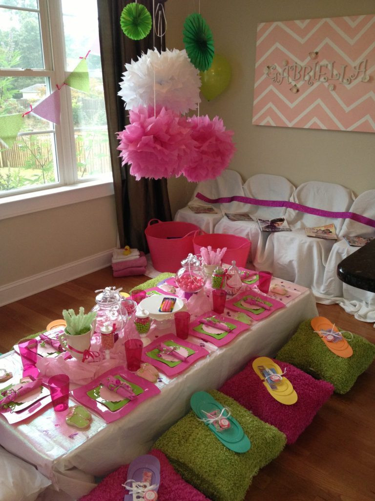 Best ideas about DIY Kids Spa Party . Save or Pin How to Throw a Glamorous Kids Spa Party Now.