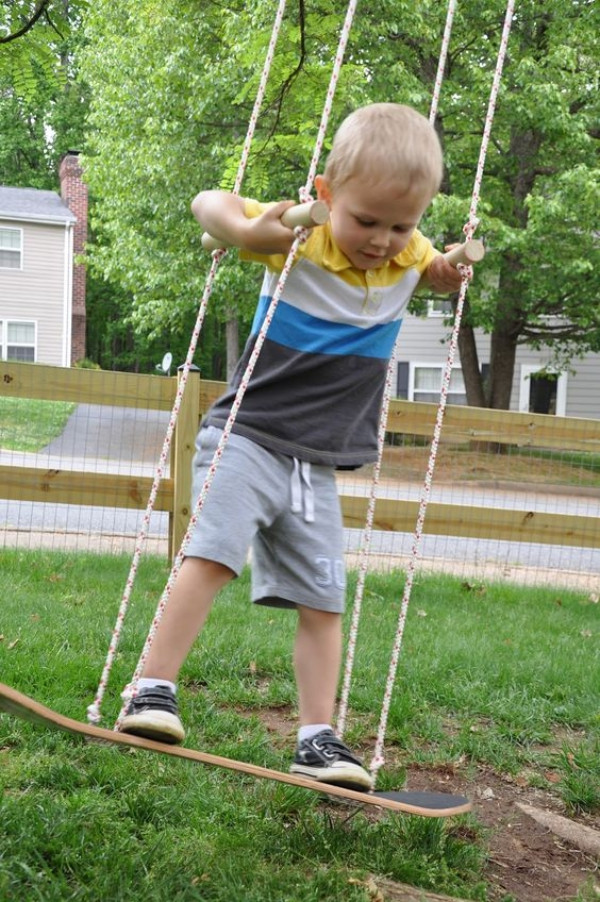 Best ideas about DIY Kids Swings . Save or Pin 30 Homemade DIY Swing Ideas Indoor Outdoor Now.