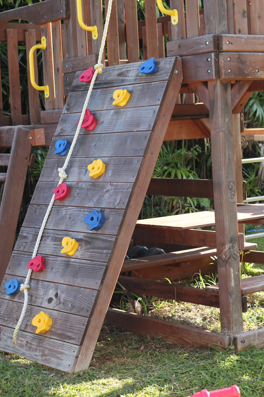 Best ideas about DIY Kids Swings . Save or Pin DIY Wood Staining a Kids Swing Set Now.