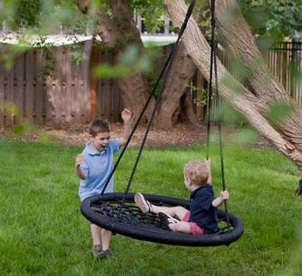 Best ideas about DIY Kids Swings . Save or Pin 22 Amazingly DIY Patio and Garden Swings Now.