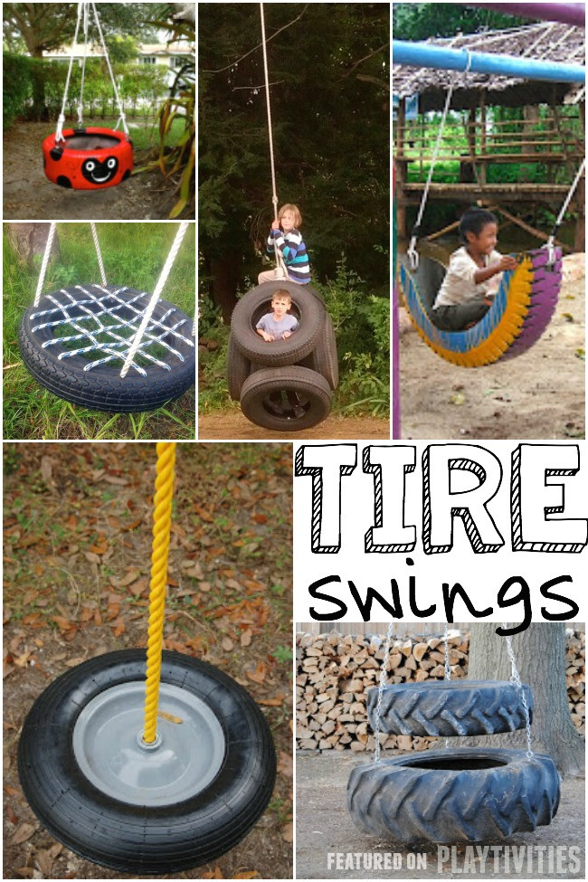 Best ideas about DIY Kids Swings . Save or Pin 25 DIY Swings You Can Make For Your Kids PLAYTIVITIES Now.