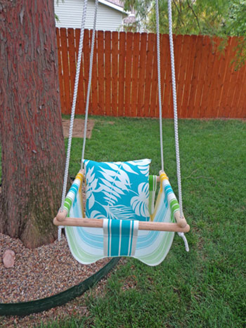 Best ideas about DIY Kids Swings . Save or Pin How to Make Toddler Swing DIY & Crafts Handimania Now.