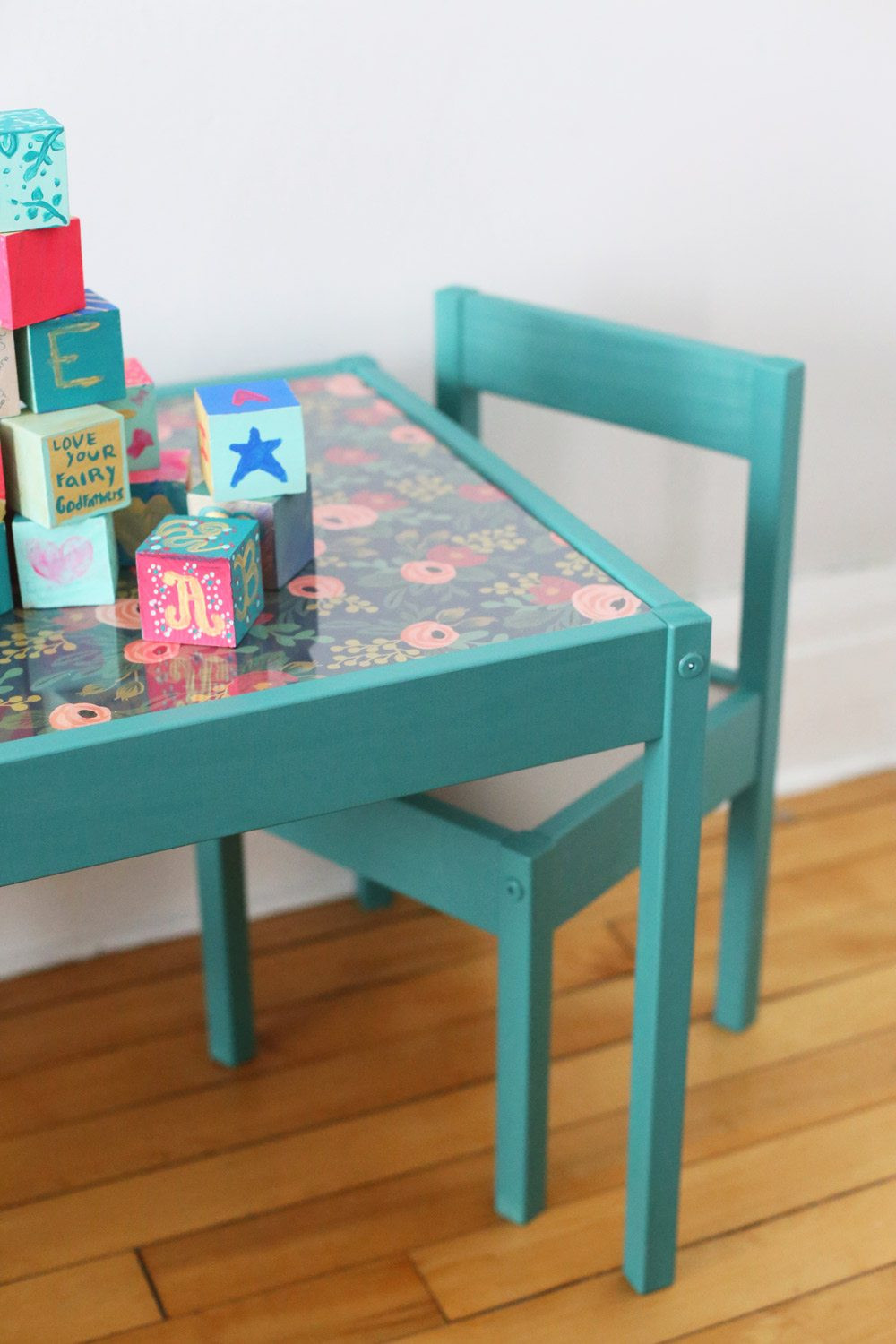 Best ideas about DIY Kids Table . Save or Pin DIY Kids Table Makeover The Sweetest Occasion Now.