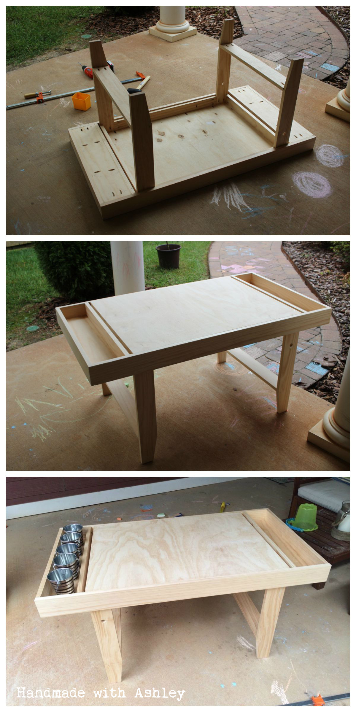 Best ideas about DIY Kids Table . Save or Pin Ana White Now.