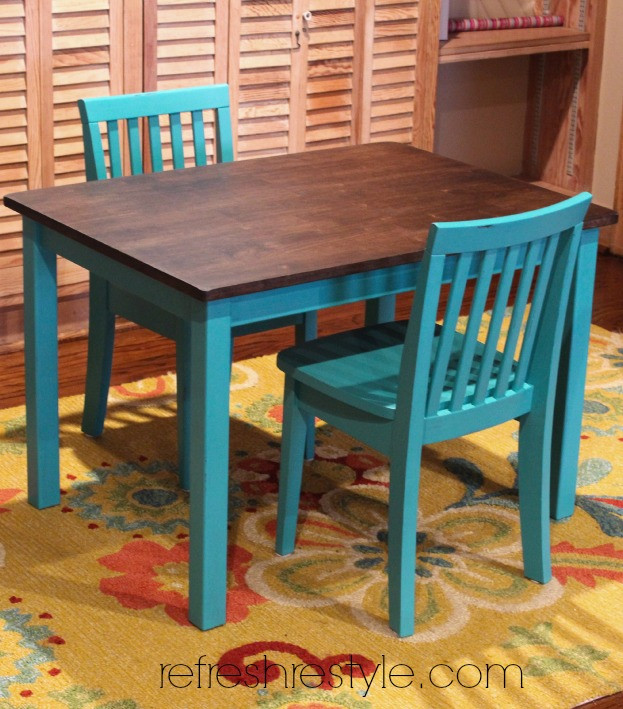 Best ideas about DIY Kids Table . Save or Pin 12 Fun DIY Kids Table Makeovers Now.