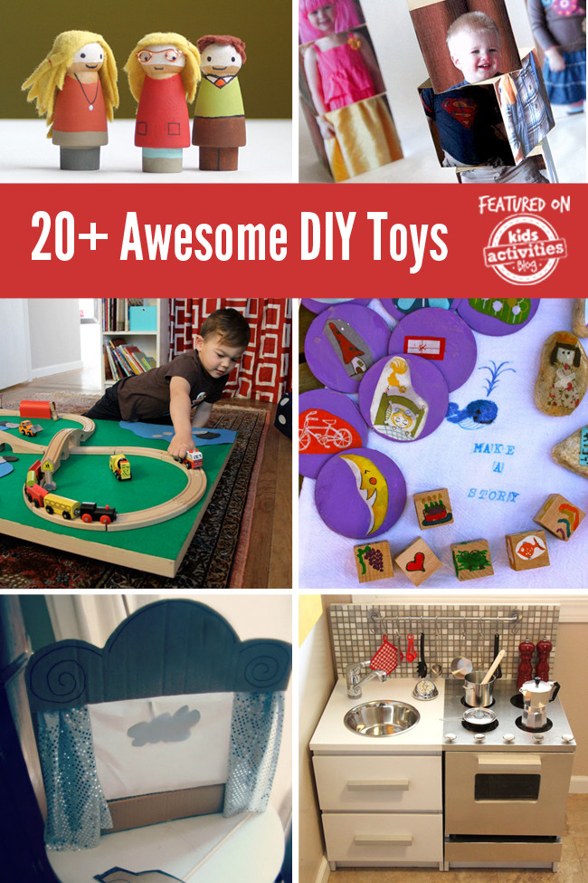 Best ideas about DIY Kids Toys . Save or Pin 20 Awesome DIY Toys to Make for Your Kids Now.