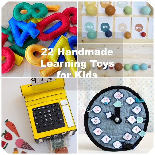 Best ideas about DIY Kids Toys . Save or Pin 22 Handmade Learning Games & Toys for Kids Now.