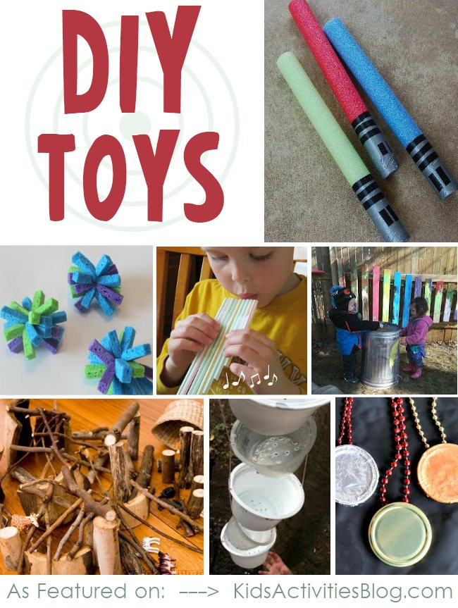 Best ideas about DIY Kids Toys . Save or Pin Homemade toys From your recycle bin Now.